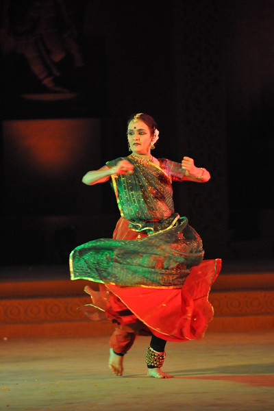 "Kathak Dance by Nandini Mehta of Nadam, Bangalore.<br /> <br /> The Konark Dance & Music Festival 2011 held from February, 19th to 23rd, organized by Konark Natya Mandap. The festival takes place in an open-air auditorium and enlivens the spirit of the sculptures of Konark temple which is just a short distance away.<br /> <br /> The objectives of the Konark Natya Mandap are to preserve, promote, and project the rich cultural heritage of Orissa and to infuse cultural awareness in the minds of all. Started with painstaking efforts of internationally renowned Odissi dance teacher Guru Gangadhar Pradhan who unfortunately passed away last year. For more details on the festival see  <a href=""http://www.konarknatyamandap.org/"">http://www.konarknatyamandap.org/</a>"