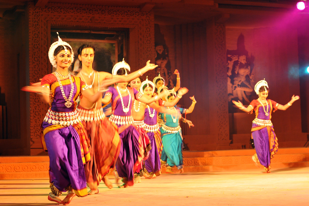 """Odissi Dance by Nupur, Bhubaneswar.<br /> <br /> The Konark Dance & Music Festival 2011 held from February, 19th to 23rd, organized by Konark Natya Mandap. The festival takes place in an open-air auditorium and enlivens the spirit of the sculptures of Konark temple which is just a short distance away.<br /> <br /> The objectives of the Konark Natya Mandap are to preserve, promote, and project the rich cultural heritage of Orissa and to infuse cultural awareness in the minds of all. Started with painstaking efforts of internationally renowned Odissi dance teacher Guru Gangadhar Pradhan who unfortunately passed away last year. For more details on the festival see  <a href=""""http://www.konarknatyamandap.org/"""">http://www.konarknatyamandap.org/</a> and <a href=""""http://konarkfestival.com/"""">http://konarkfestival.com/</a>"""