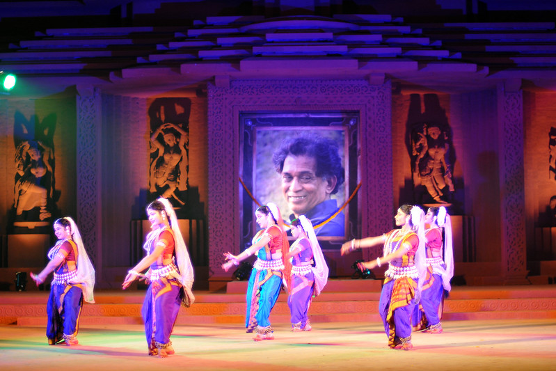 "Odissi Dance performance by Nupur, Bhubaneswar.<br /> <br /> The Konark Dance & Music Festival 2011 held from February, 19th to 23rd, organized by Konark Natya Mandap. The festival takes place in an open-air auditorium and enlivens the spirit of the sculptures of Konark temple which is just a short distance away.<br /> <br /> The objectives of the Konark Natya Mandap are to preserve, promote, and project the rich cultural heritage of Orissa and to infuse cultural awareness in the minds of all. Started with painstaking efforts of internationally renowned Odissi dance teacher Guru Gangadhar Pradhan who unfortunately passed away last year. For more details on the festival see  <a href=""http://www.konarknatyamandap.org/"">http://www.konarknatyamandap.org/</a> and <a href=""http://konarkfestival.com/"">http://konarkfestival.com/</a>"