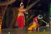 Shreeya Sakharkar and Tanushree Yalavati of Vaishnovi Kala Kshetra, Mumbai. Duet performance by disciples of Smt Asha Nambiar - Kalavati Pallavi. Mumbai Odissi Utsav, Day 1 - 17th Feb 2018.
