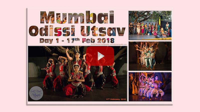 Short video clip of Mumbai Odissi Utsav Day 1 - 17th Feb 2018. Mumbai Odissi Utsav 2018 organised jointly by Samskriti Cultural Society, festival founder Shyamhari Chakra and Namrata Mehta from Kaishiki Dance Academy, Mumbai.