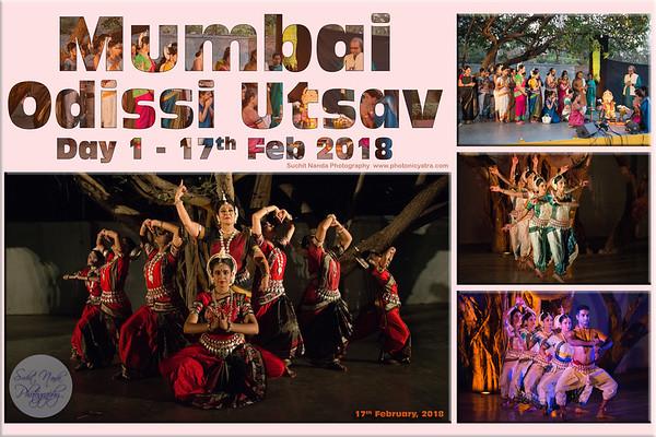 Mumbai Odissi Utsav  2018 Day 1