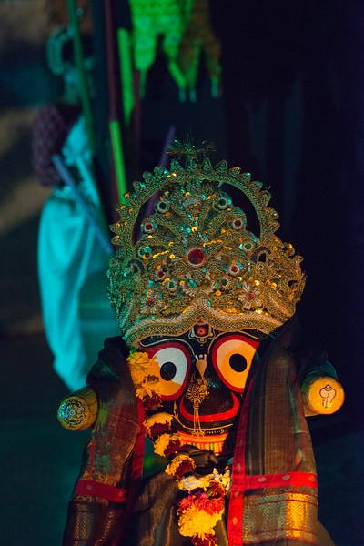 Odisshi Lord Jagannath (Shri Krishna).<br /> <br /> Mumbai Odissi Utsav <br /> Day 1 - 17th Feb 2018.