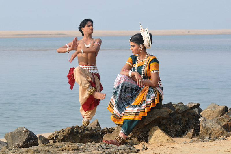 """Prasanta Kumar Sahoo as Shiva.<br /> <br /> Odissi dancers of the Konark Natya Mandap at the Konark Beach shot during the Konark Dance & Music Festival and close to the famous Konark Sun temple.<br /> <br /> These dancers have been mentored by the renowned Odissi dance teacher Guru Gangadhar Pradhan who unfortunately passed away last year. For more details on the festival and the organizers, take a look at:  <a href=""""http://konarkfestival.com/"""">http://konarkfestival.com/</a> and  <a href=""""http://www.konarknatyamandap.org/"""">http://www.konarknatyamandap.org/</a>"""