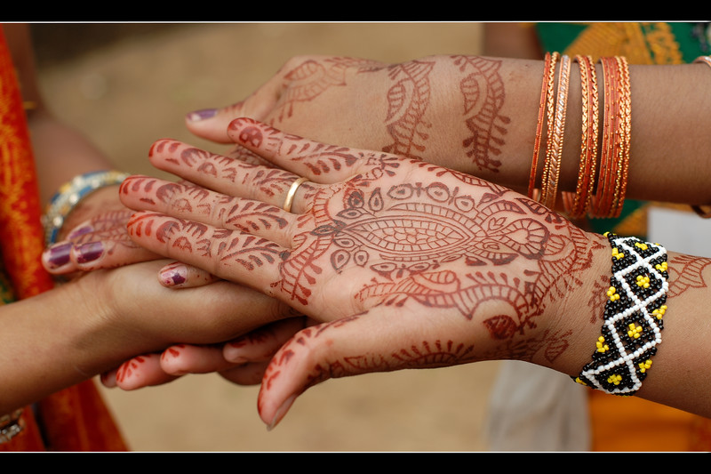 """I love you"" written with mehendi (heena). Suraj Kund Mela 2008 held in Haryana (outskirts of Delhi), North India. The Suraj Kund Mela is an annual fair held near Delhi. Folk dances, handicrafts and a lot of fun."