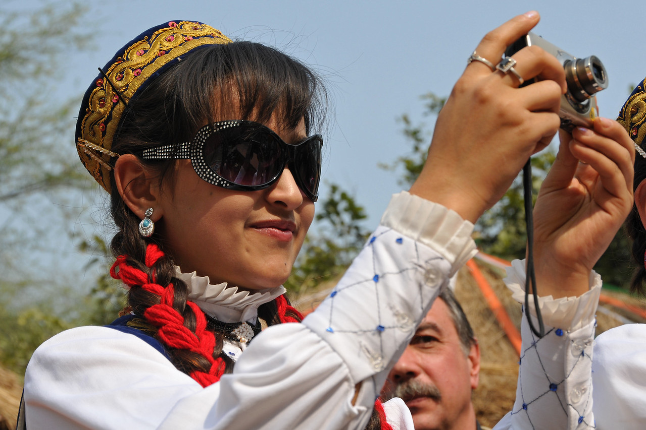 Picture of the photographer.<br /> <br /> Surajkund Crafts Mela 2011 held near Delhi in Faridabad, Haryana, North India. The annual Suraj Kund Mela (fair) is an event held in February each year where artisans, craftsmen, musicians & dancers come together and entral thousands of visitors. It is also a great shopping bonanza and delight to the palate with the range of food.