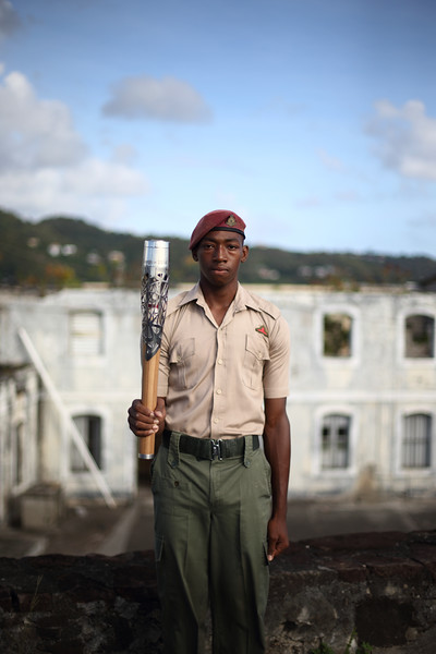 Day 151 of the The Glasgow 2014 Queen's Baton Relay in Grenada