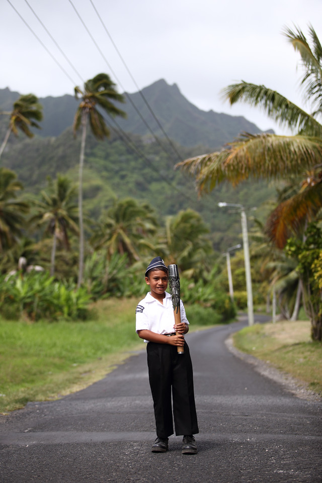 Day 60 of the The Glasgow 2014 Queen's Baton Relay in Cook Islands