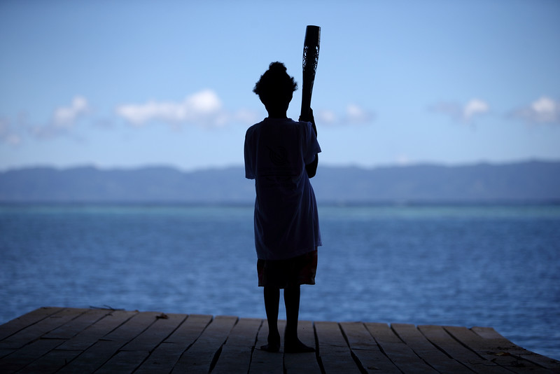 Day 32 of The Glasgow 2014 Queen's Baton Relay in the Solomon Islands