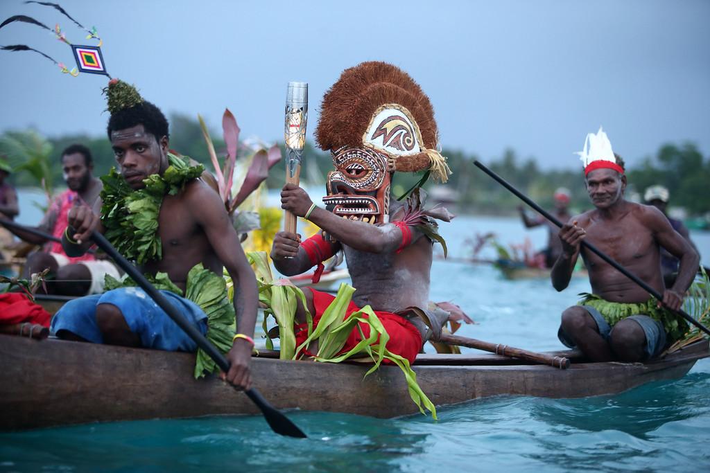 Day 29 of The Glasgow 2014 Queen's Baton Relay in Papua New Gunea