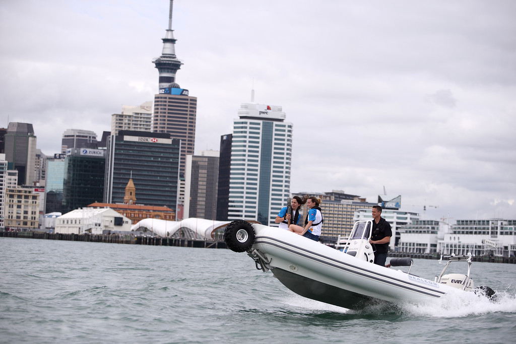 Day 50 of The Glasgow 2014 Queen's Baton Relay in New Zealand