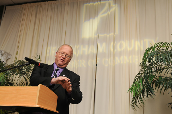 Ron Mietzner was named Effingham County Chamber of Commerce Volunteer of Year.