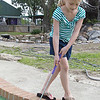 Maggie Moeller, 7, chases down a ball at the Evergreen Mini Golf Course, where the Effingham Park District held a Fun Friday. Just one of the events led by the park district, Fun Friday activities vary from week to week at local areas of entertainment.