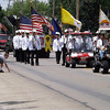 A parade kicked off the Teutopolis Knights of Columbus' annual picnic. Hundreds of local residents filled Main Street for the parade.
