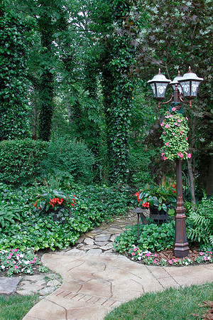 "Ron and Kim Willenborg's home will display their ""shade garden."""