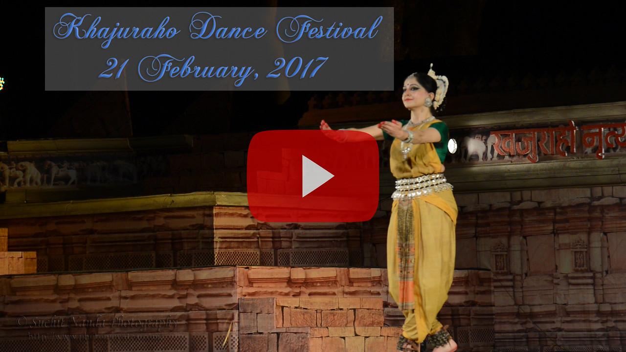 Khajuraho Dance Festival 21st Feb'17