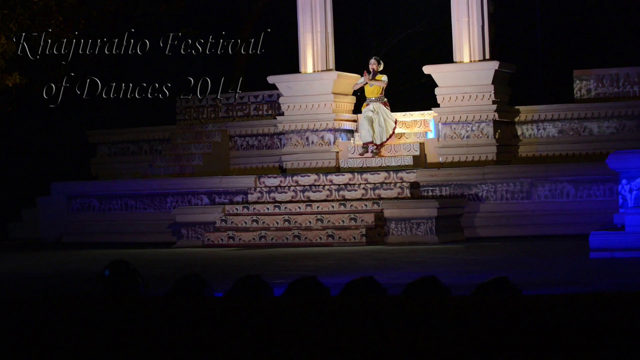 Short video of Bindu Juneja's dance. Khajuraho Festival of Dances celebrates the most colorful and brilliant classical dance forms of India.