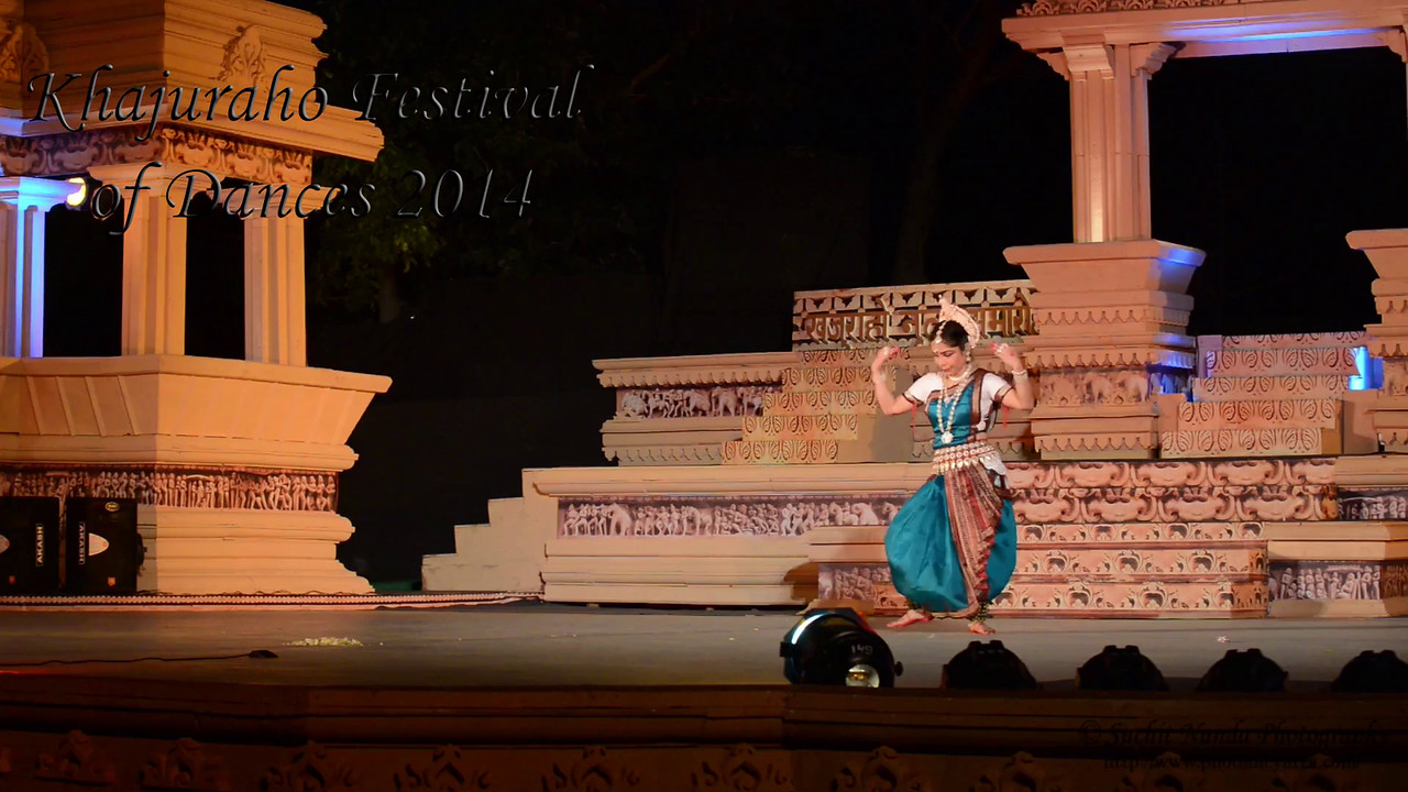 Short video of Alpana Nayak's dance. Khajuraho Festival of Dances celebrates the most colorful and brilliant classical dance forms of India.