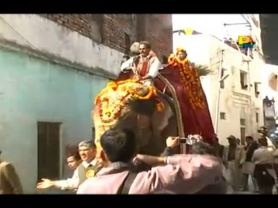 A friend shared this video with me of the Kumbh Mela which took place in Haridwar in 2010.  The Kumbh Mela is the biggest religious gatherings on the planet which takes places on the banks of the river Ganga. The number of pilgrims this year is expected to exceed around five million since the first day Jan 14 till the time it concludes on April 28, 2010. The auspicious days of the shahi snan or royal baths usually draw hundreds of thousands of devotees to the Har Ki Paudi and other banks of the river. Uttarakhand. North India. The occasion draws pilgrims from around the world and severly overloads the infrastructure so most of the city is shut down for any vehicles other than security or emergency services so a sea of humanity walks through the city to get to the bathing ghats.