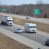 Drivers come through Effingham on Interstate 57/70. The fourth phase of expanding the interstate began recently, which will bring the area from the Fourth Street overpass to the North tri-level to three lanes.