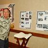 Fred Zawacki, McClatchy June, 1960 Class Reunion, Sacramento, CA, October 02, 2010 -- Photo by Robert McClintock (c) 2010 by Robert McClintock