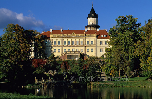 [GERMANY.BRANDENBURG 21974] 'Wiesenburg Castle.'  	Schloss Wiesenburg is first mentioned in historical records dating from 1161. But much of what we see today is the result of extensive restoration work in the 19th century. The castle is located 35 kilometers south of Brandenburg. Photo Mick Palarczyk.