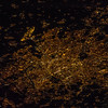 Caption by Space Station Academy student: This is an overhead picture taken at night of a city in France with it's web like lights.. People can use photos of cities in the dark like this one, to tell how big the cities are in certain places of the word and how much electricity they are using!!