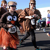 Kayla Reams (566) of Effingham runs with her mother Jessica Britt (right) and aunt Heather Britt (back) during the Thanksgiving Turkey Trot 5k Run and and Fun Walk at the Effingham Performance CenterSaturday afternoon.