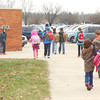 Students leave Altamont Elementary School, which is one of two districts in Effingham County that hasn't seen a dramatic drop in enrollment in recent years. With major drops in enrollment at Effingham, Beecher City and Teutopolis schools, Altamont and Dieterich saw a much smaller decrease.