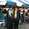 Judy Bloemer, left, and Becky Gobczynski enjoyed chili and some early Halloween attire during the Effingham Central Business Group's Chili Fest Friday evening. Chili enthusiasts sampled various recipes at several different businesses and then voted on their favorite.