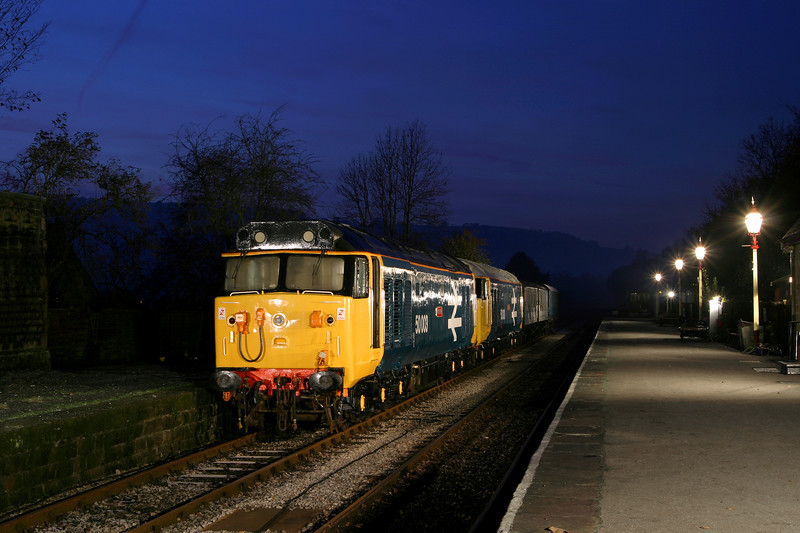 50029 (50003) & 50030 at Darley Dale