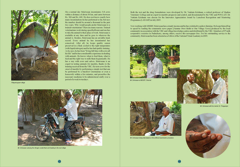 """Transformative Impact of ICT - Change stories from rural India"" is a MSSRF (M S Swaminathan Research Foundation) book by Arundhathi, Suchit Nanda and Subbiah Arunachalam. <br /> <br /> More details can be found at:  <a href=""http://www.mssrf.org/"">http://www.mssrf.org/</a>  and  <a href=""http://www.mssrf-nva.org/"">http://www.mssrf-nva.org/</a>"