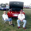 Janice and Andy Wilton of Orion relax behind their 2013 Corvette at the annual Corvette Funfest. The Wiltons also own a 2004 model that they didn't bring to the fest, which drew thousands of Corvette owners over a four-day period.