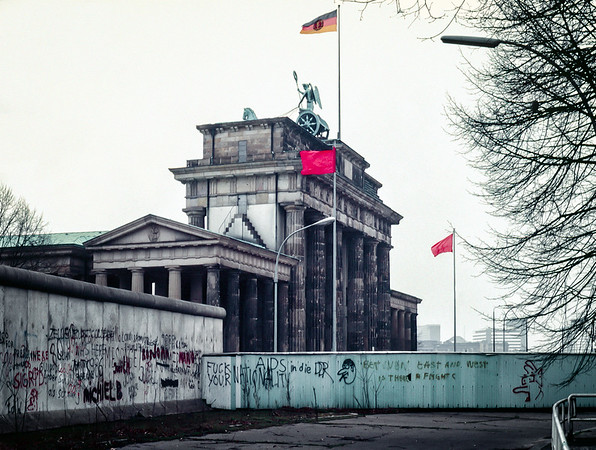 F*** your nationality, West Berlin, West Germany, 1986