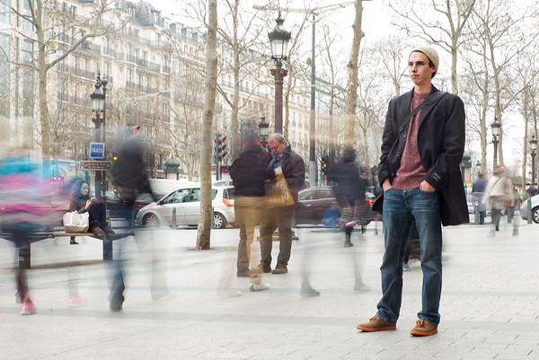 Reflection, Paris, France, 2014