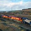 66030 & 66068 at Healey Mills