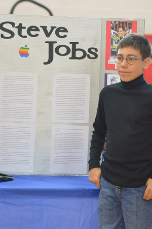 Nathan Schultz as Steve Jobs