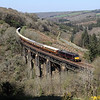 67006 at Largin Viaduct