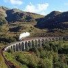 44871 on Glenfinnan Viaduct