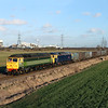 47812 & 47815 at Knottingley, Blackburn Lane L.C.