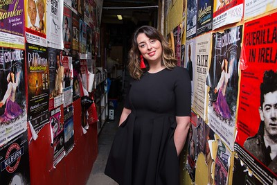 Julie Kelleher  Artistic Director of the Everyman Theatre.  Picture Darragh Kane