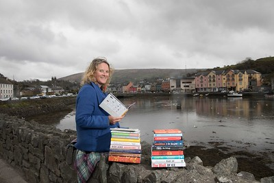 Festival Director for the West Cork Literary Festival, Eimear O'Herlihy, relaxing before the start of one of the country's most prestigious Literary Festivals which kicks off in the town of Bantry on July 13th and continues in venues throughout the town until July 20th.  Pic Darragh Kane