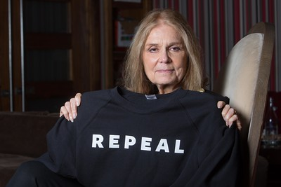 Activist and writer Gloria Steinem at the West Cork Literary Festival in Bantry. Ms Steinem spoke about her book My Life on the Road on the final day of the Festival. Pic Darragh Kane