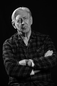 The Late Michael Twomey during production of the Bruce Grahams The Outgoing Tide Pic Darragh Kane. Pic Darragh Kane.