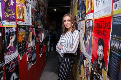 Author of Asking For It Louise O'Neill before the stage adaptations world premiere in the Everyman Theatre Picture Darragh Kane