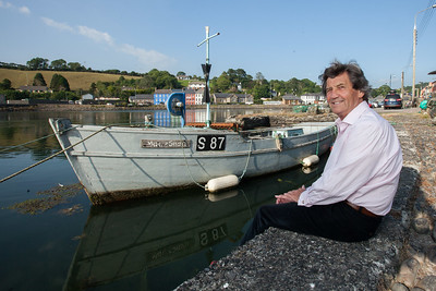 Author Melvyn Bragg  in Bantry for the West Cork Literary Festival. Pic Darragh Kane