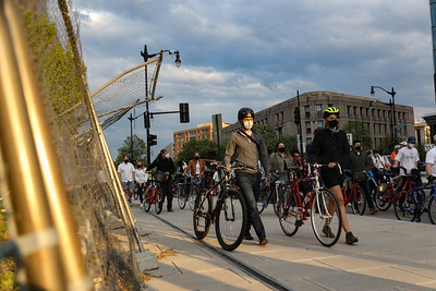 Memorial bike ride for cyclist killed in Washington, D.C.