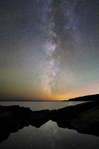 The Milky Way, Acadia National Park