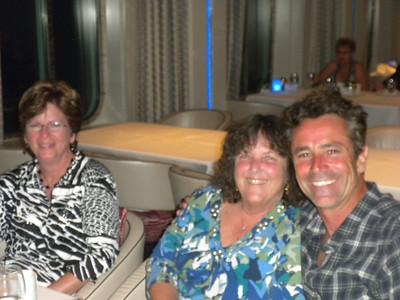 Glenda, Linda & James