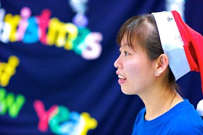 Alexis' teacher